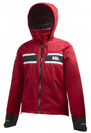 W SALT JACKET - Red
