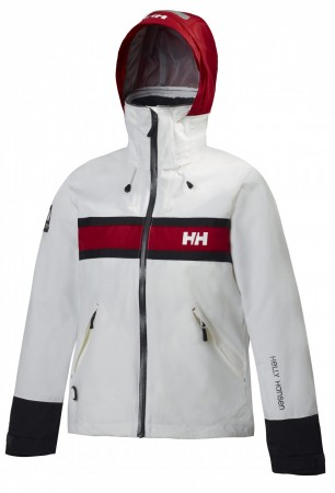 W SALT JACKET - White