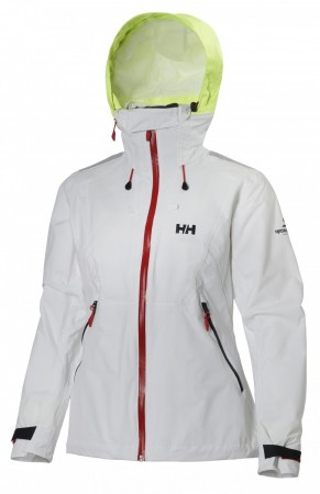 W HP POINT JACKET - White
