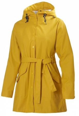 Helly Hansen - W KIRKWALL RAIN COAT- ESSENTIAL Yellow
