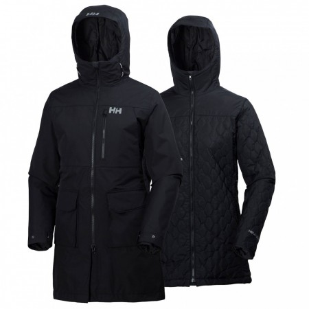 Helly Hansen - W RIGGING COAT - BLACK