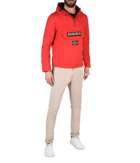 NAPAPIJRI RAINFOREST SLIM SUMMER-Red