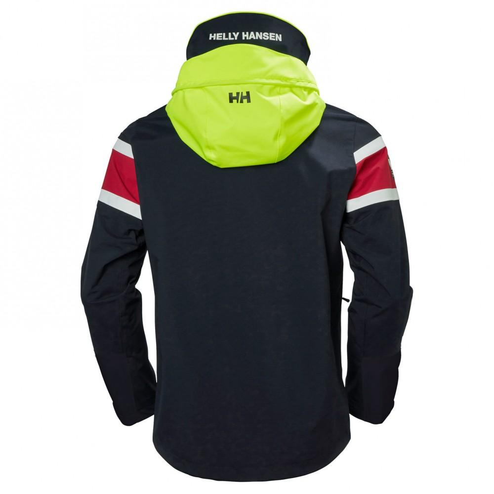 71ec7855 Helly Hansen - Jakke - Salt Flag Jacket - Navy - Man   Unique Design ...