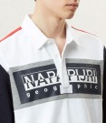 NAPAPIJRI Long sleeve Polo Shirt Emei close up thumbnail