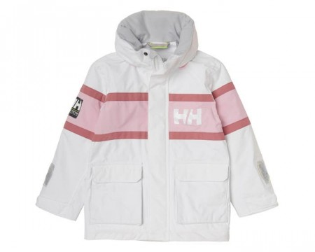 HELLY HANSEN K SKAGEN JACKET WHITE