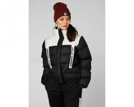 HELLY HANSEN W PC PUFFER JACKET BLACK