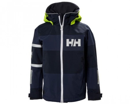 HELLY HANSEN JR SALT COAST JACKET EVENING BLUE