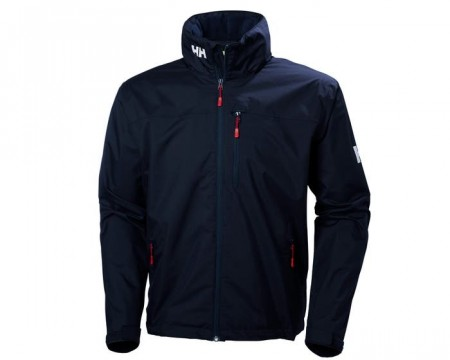 HELLY HANSEN CREW HOODED JACKET NAVY