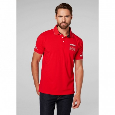 HELLY HANSEN HP RACING POLO FLAG RED