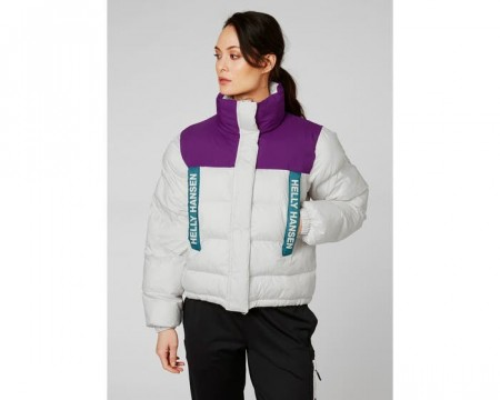 HELLY HANSEN W PC PUFFER JACKET NIMBUS CLOUD