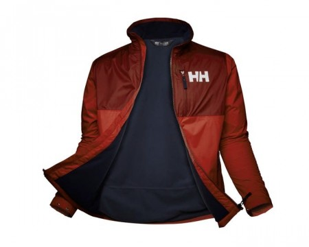 HELLY HANSEN ACTIVE MIDLAYER JACKET OXBLOOD
