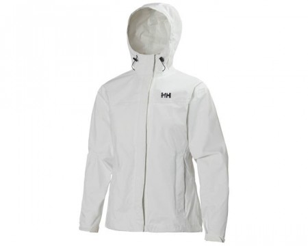 HELLY HANSEN W LOKE JACKET WHITE
