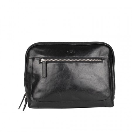 TOILET BAG THE MONTE - Calf Leather