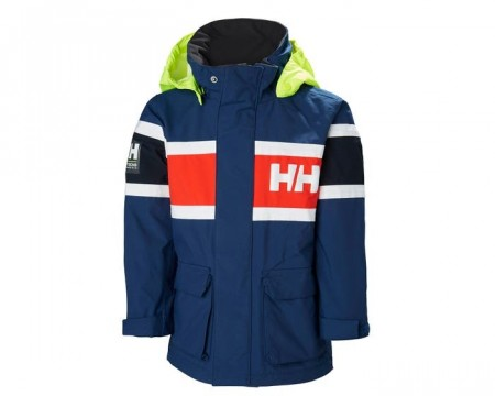 HELLY HANSEN K SKAGEN JACKET CATALINA BLUE
