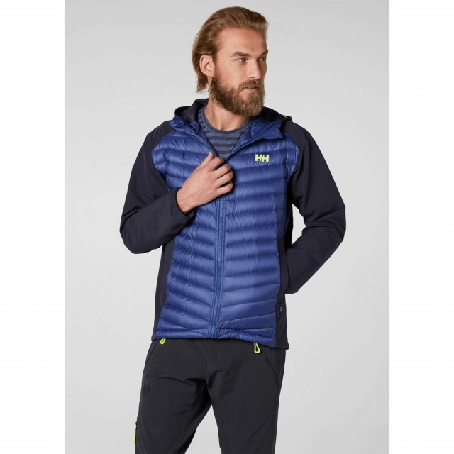 Verglas Light Jacket Marine Blue Front