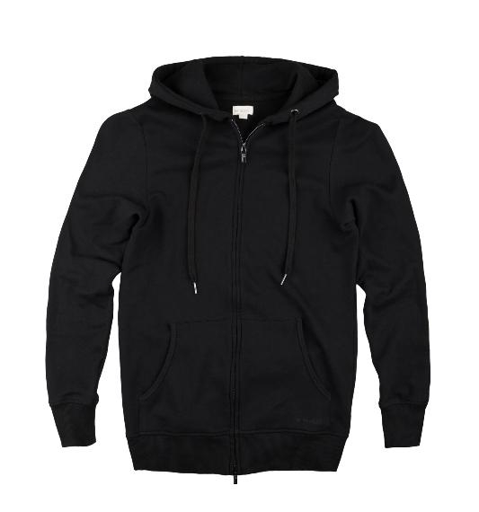 THE PRODUCT - Zip Hood - Black