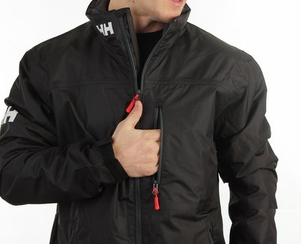 Crew Midlayer Jacket Black