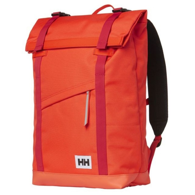 HELLY HANSEN STOCKHOLM BACKPACK CHERRY TOMATO FRONT