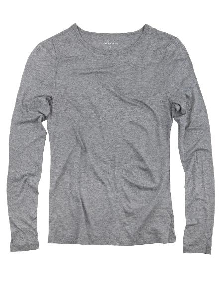 THE PRODUCT - Women´s Long Sleeve - Grey Melange