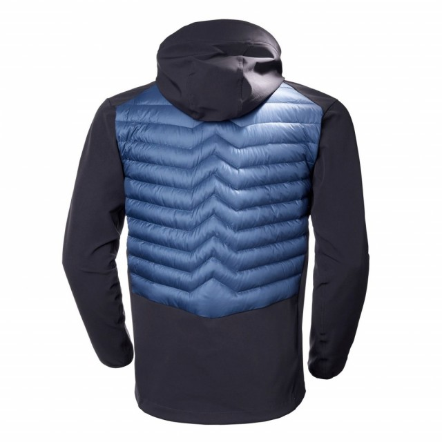 Verglas Light Jacket Marine Blue Back