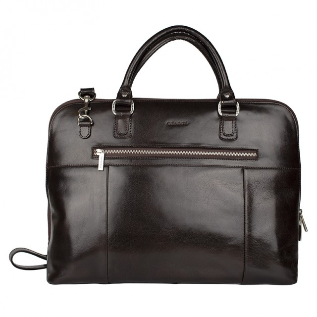 WORKBAG MEDIUM THE MONTE - Calf Leather - Front