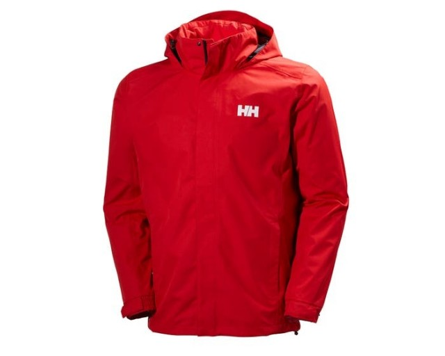 HELLY HANSEN DUBLINER JACKET FLAG RED FRONT