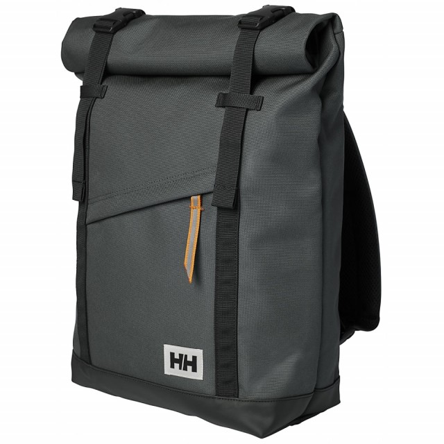 HELLY HANSEN STOCKHOLM BACKPACK CHARCOAL FRONT