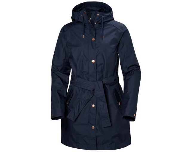 HELLY HANSEN W LYNESS II COAT EVENING BLUE FRONT