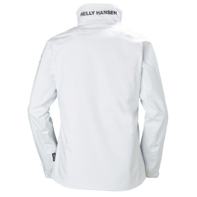 HELLY HANSEN W HP RACING MIDLAYER JACKET WHITE BACK