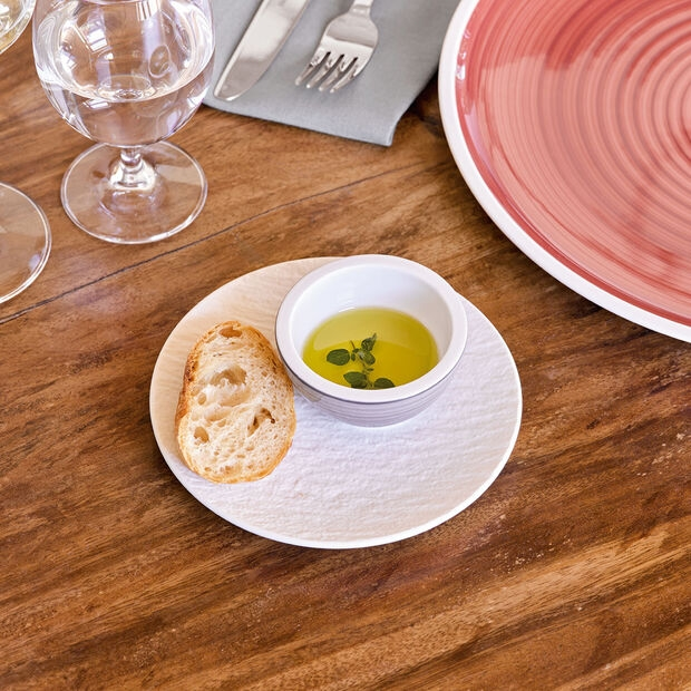 VILLEROY & BOCH - MANUFACTURE ROCK BLANC - BREAD & BUTTER PLATE - IMAGE