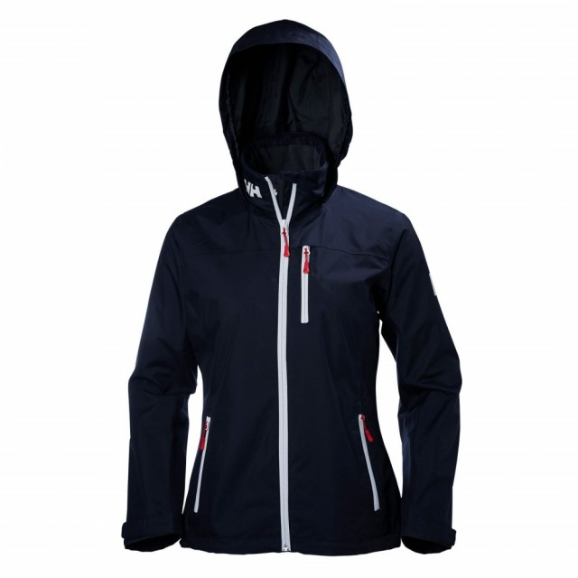 Crew Hooded Midlayer Jacket Navy Image