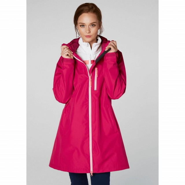 Long Belfast Jacket Persian Red Front