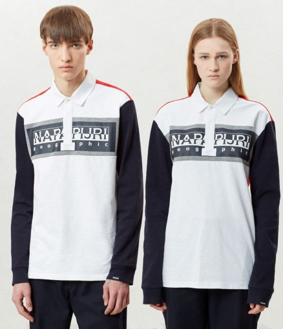 NAPAPIJRI Long sleeve Polo Shirt Emei
